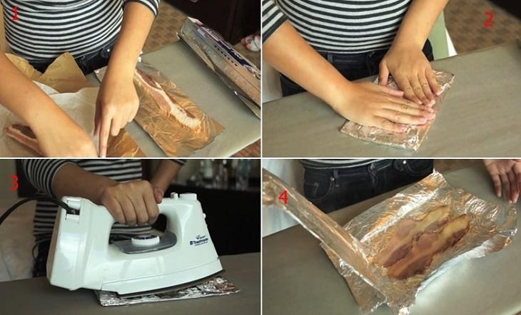 Bạn có từng biết bàn ủi có khả năng nấu chín thức ăn