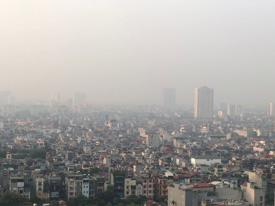 Báo động tình trang ô nhiễm không khí trên phạm vi toàn cầu