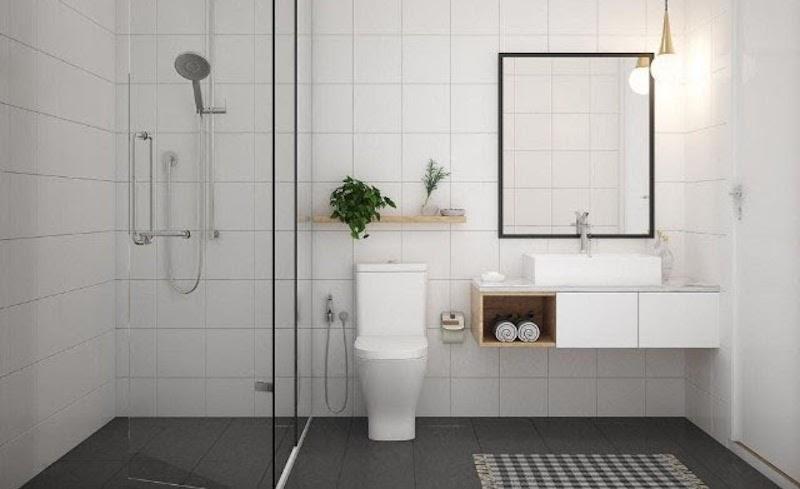 Cách khử mùi giúp nhà vệ sinh thơm nức