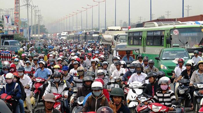 Giao thông là một trong những thủ phạm gây ô nhiễm tiếng ồn
