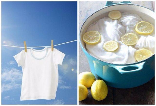 Gợi ý một số cách tẩy trắng quần áo khi bị dính màu