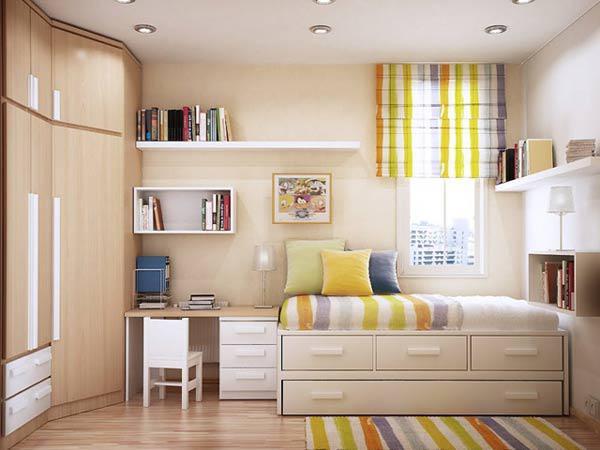 Làm không gian phòng ngủ thêm tươi mát