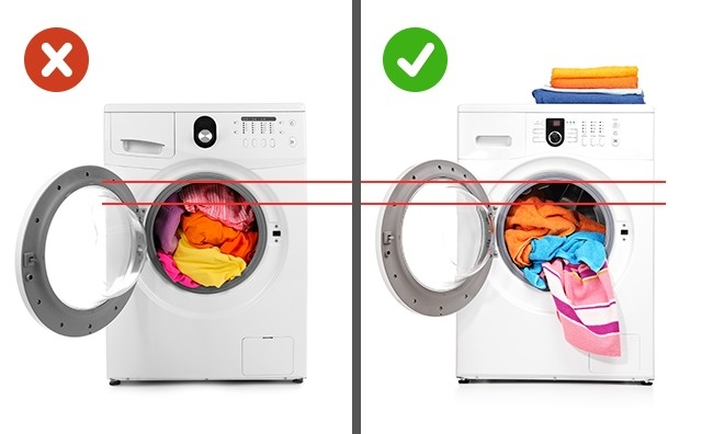 Mẹo giặc sạch quần áo bằng máy không sử dụng hóa chất