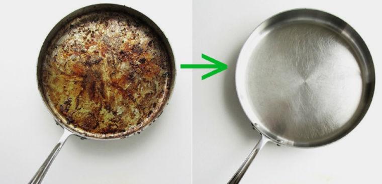 Mẹo hay từ nhà bếp đánh bật mùi cháy khét từ thức ăn