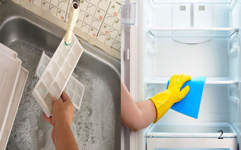 Mẹo vặt đánh bay mùi hôi trong tủ lạnh khi sử dụng máy khử mùi ozone