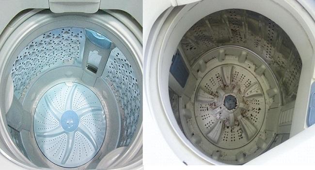 Mẹo vệ sinh máy giặt tại nhà nhanh nhất