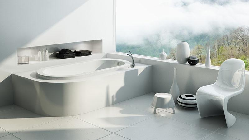 Mẹo vệ sinh tường nhà tắm bạn nên biết