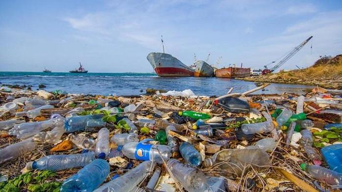 Mỗi năm có đến 8 triệu tấn rác nhựa lọt ra ngoài đại dương