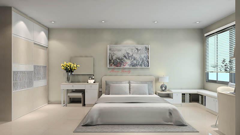 Phòng ngủ là nơi bạn thư giãn sau một ngày dài vất vả