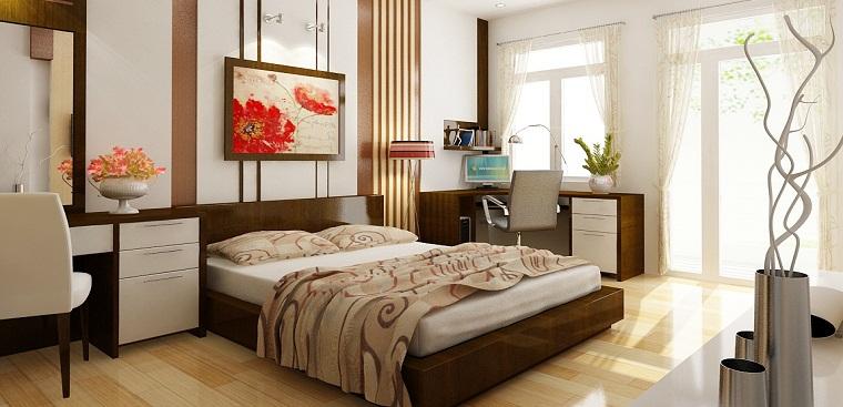 Phòng ngủ thoáng mát, lưu thông khí tốt sẽ giúp sức khỏe tốt hơn