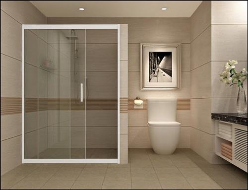 Phòng tắm là nơi mọi người nên vệ sinh thường xuyên
