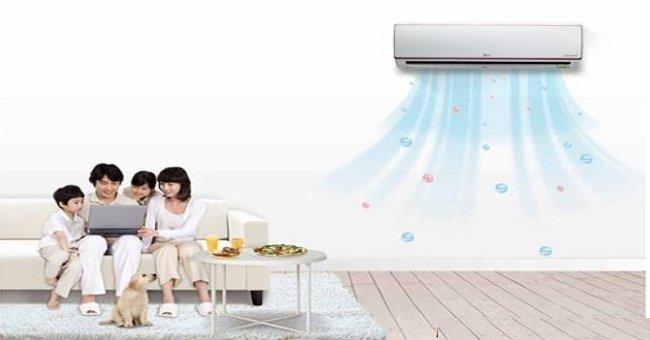 Sử dụng máy lạnh nếu trong nhà có trẻ nhỏ cần lưu ý một vài điều