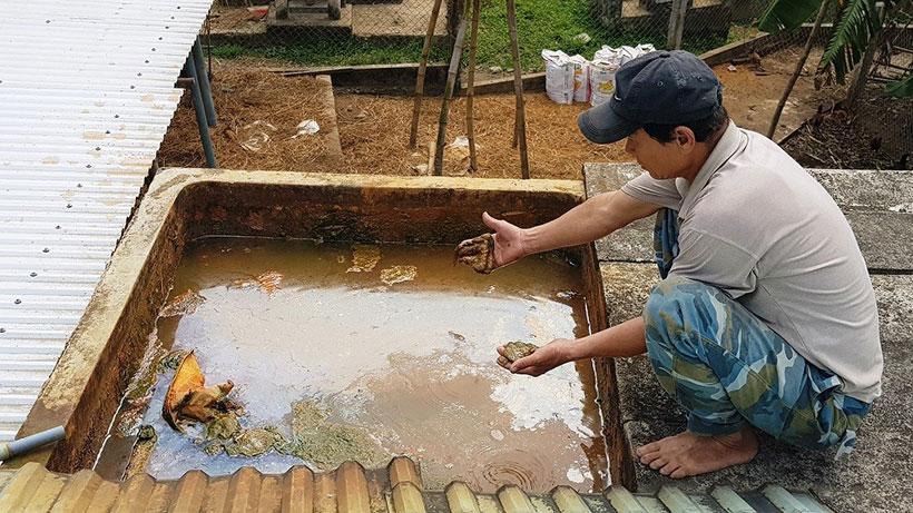 Tự làm hệ thống lọc nước giếng khoan tại nhà