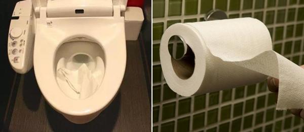 Vứt giấy vệ sinh vào bồn cầu lại mang đến rất nhiều phiền phức